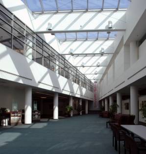 OCLC Conference Center atrium